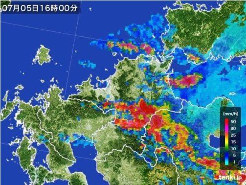 朝倉市天気図
